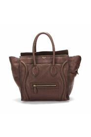 Pre-owned Luggage Tote in calfskin leather