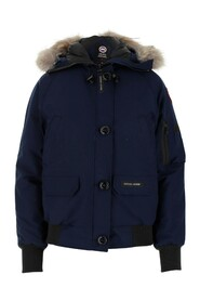 Coat with real removable fur hood