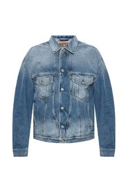 Denim jacket with pockets