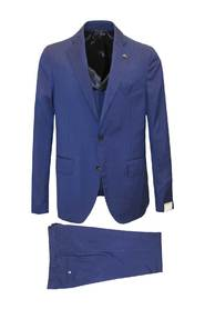 Complete suit in blue -G15065GP15407-658--48