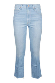JEANS THE INSIDER CROP STEP FRAY