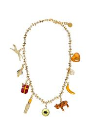 Necklace with Pendant Details