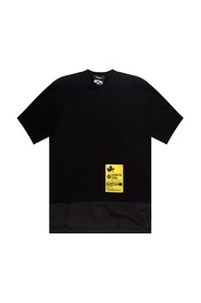 Double-layered T-shirt with logo