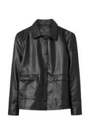 Sissel Faux Leather JACKET