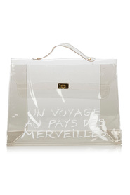 Vinyl Kelly Handbag
