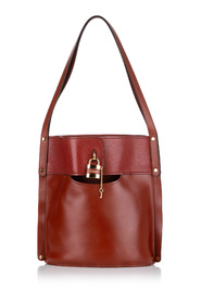 brugt Aby Leather Bucket Bag