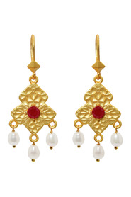 Palatial Ruby Earrings