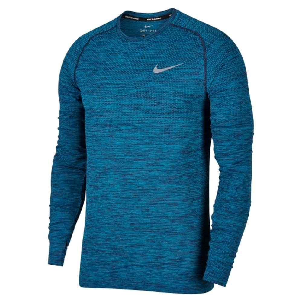 NIKE KNIT LS. TEE BLÅ MENS STYLE