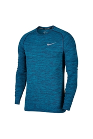 NIKE  - KNIT LS. TEE - BLÅ - MENS STYLE