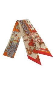 Exposition Universelle Twilly Silk Scarf