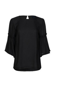 Sort One Two Luxzuz Constaney Blouse Bluse