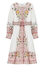 Caily Dress - French Pale