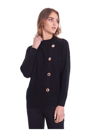 MAXI SWEATER WITH BUTTONS