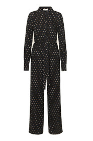 Sort Stine Goya Stine Goya Lana - Dots Black Jumpsuit