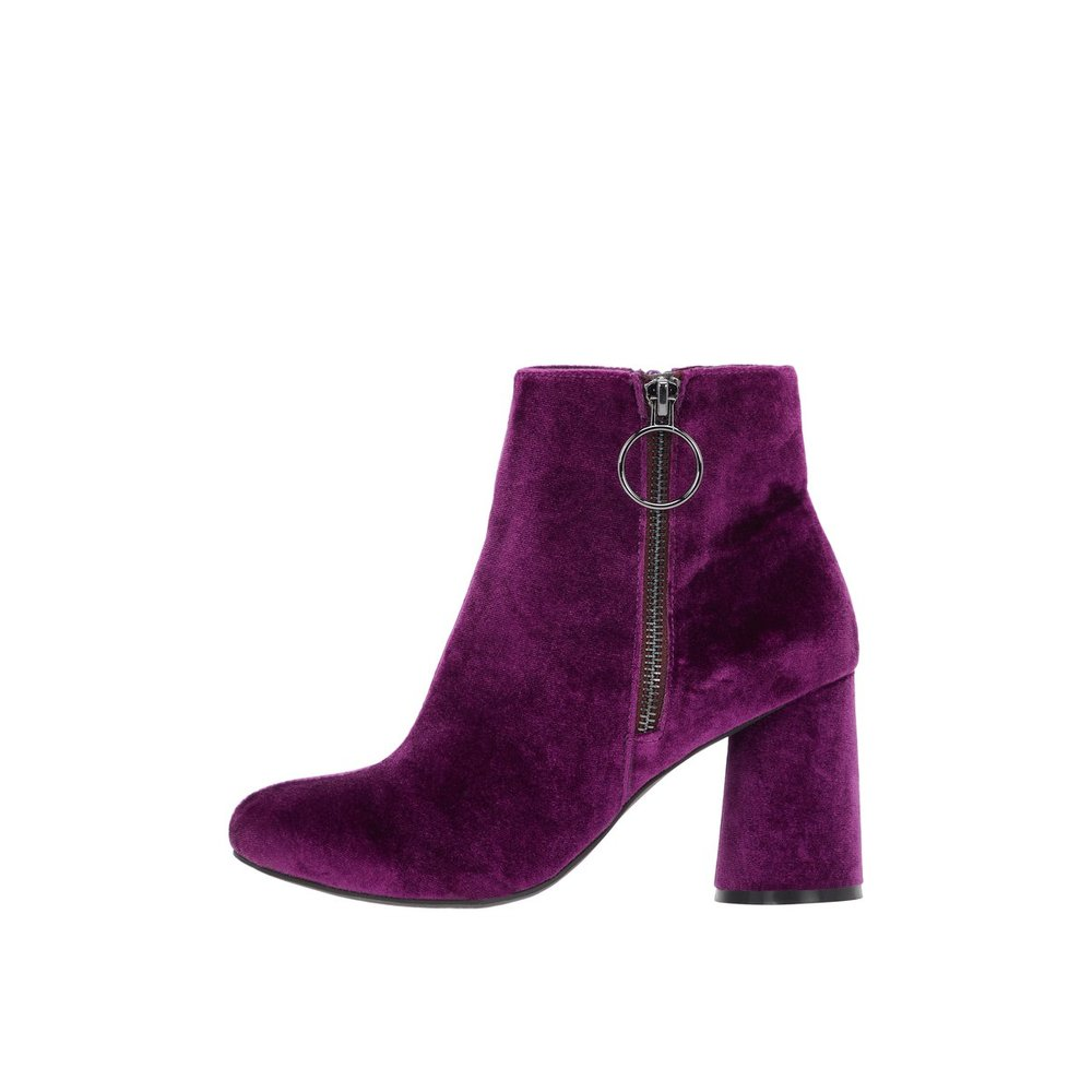 Ankle boots Round heel