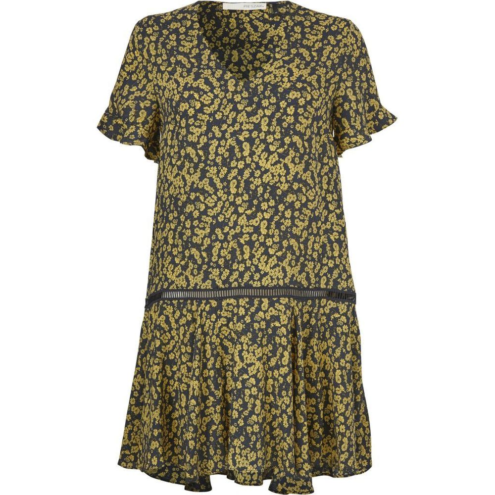 Ammeli Volume dress - Sulphur