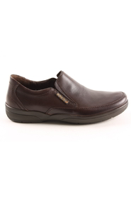 donkerbruin Mephisto Adelio Dark Brown instappers en mocassins