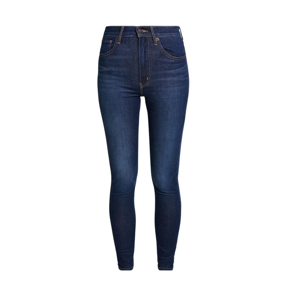 Blå Levis Mile High Super Skinny Bukse