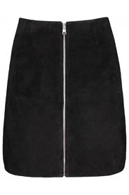Sort Maud Leather Skirt Skjørt