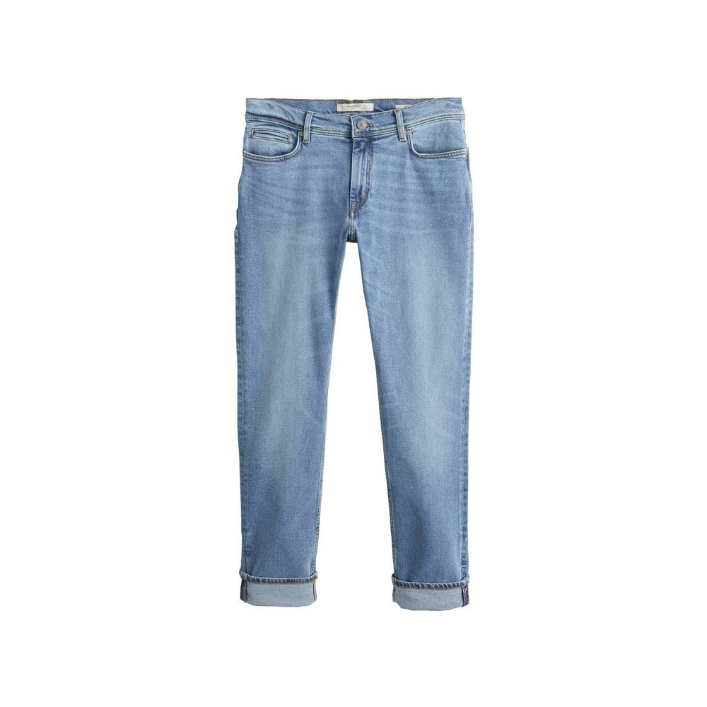 Jeans slim fit lys vask, Jan