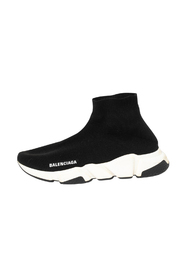 Brukte Knit Fabric Speed High Top Sneakers