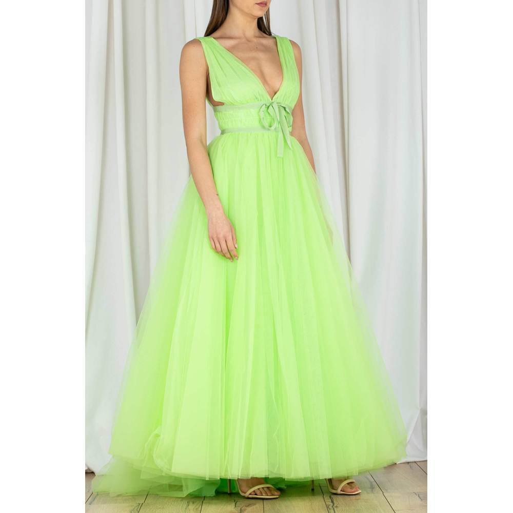 Brognano Green Dress Brognano