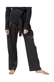 SOFT PINSTRIPE TROUSERS