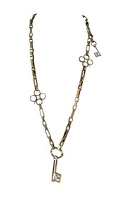 Metal Key Pendant Necklace Fashion Jewelry