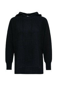 Cashmere Flared Hoodie