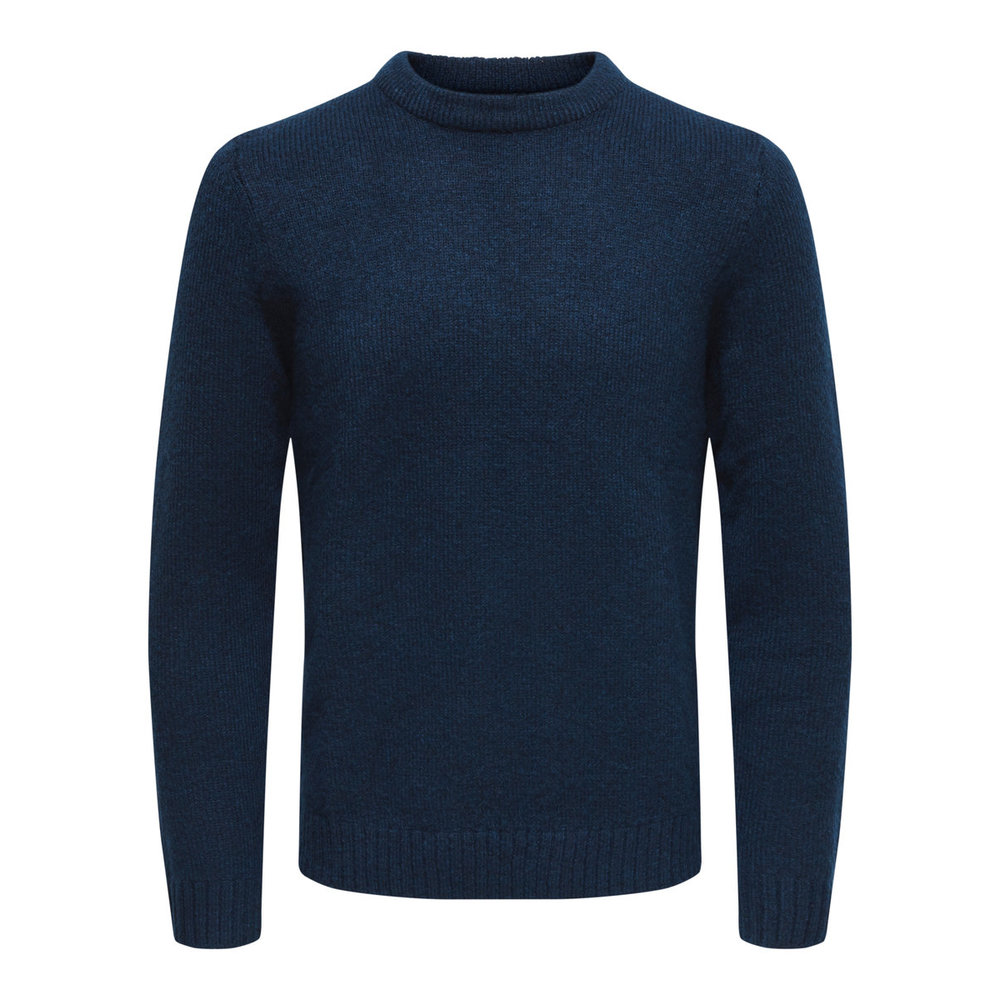 Knitted Pullover Solid colored