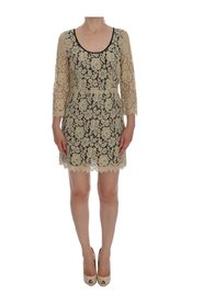 Floral Lace Short Mini Shift Dress