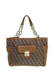 Signature Canvas and Leather Tote