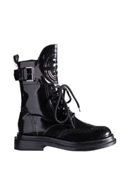 Biker Boots With Logo