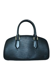 Black Epi Leather Jasmine Handbag