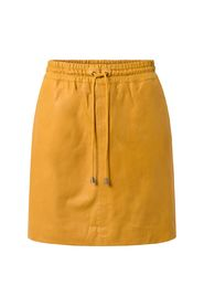 Depeche - Skirt with smock waist - Yellow