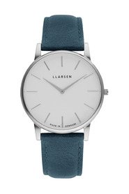 OLIVER - Steel watch leather