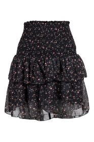 Carin Dark Flower Skirt