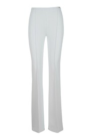 Stretch bell-bottom trousers