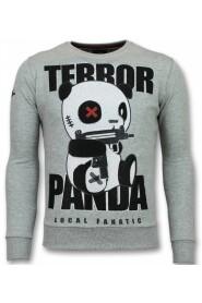 Panda Sweater Terror Mænds Sweater Mænds Sweaters
