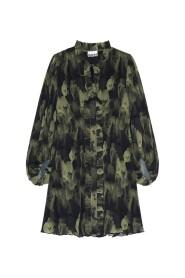 Plisseret 'Georgette' Mini Dress