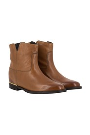 Blerry leather ankle boots