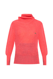 Sweater with decorative collar