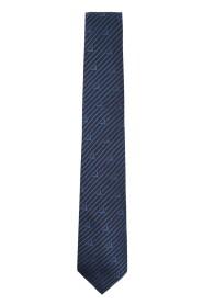 Cravatta motivo jacquard