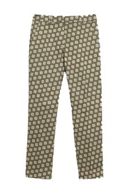 Astrale Cotton Satin Trousers
