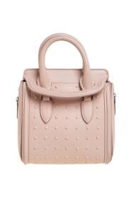 Leather Mini Studded Heroine Shoulder Bag