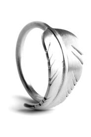 Sølv JANE KØNIG - Leaf Ring