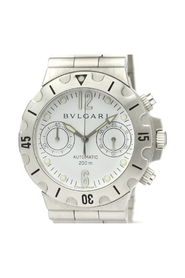 Pre-owned Bvlgari Diagono Automatic Stainless Steel