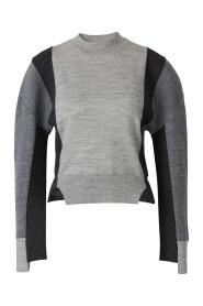 Asymmetrical Sleeves Sweater