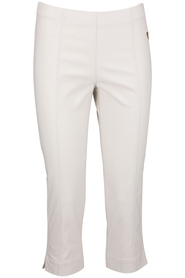 Mirror trousers Emma capri beige