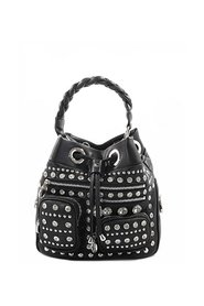 Mirror squaw bucket bag